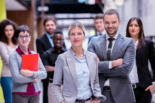 Reihen Karriere in der Verwaltung